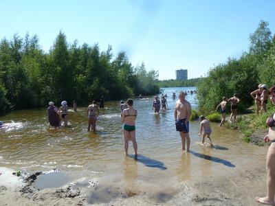 Пляж святое озеро 72